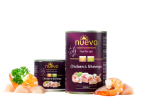 NUEVO CAT CHICKEN AND SHRIMPS 400g