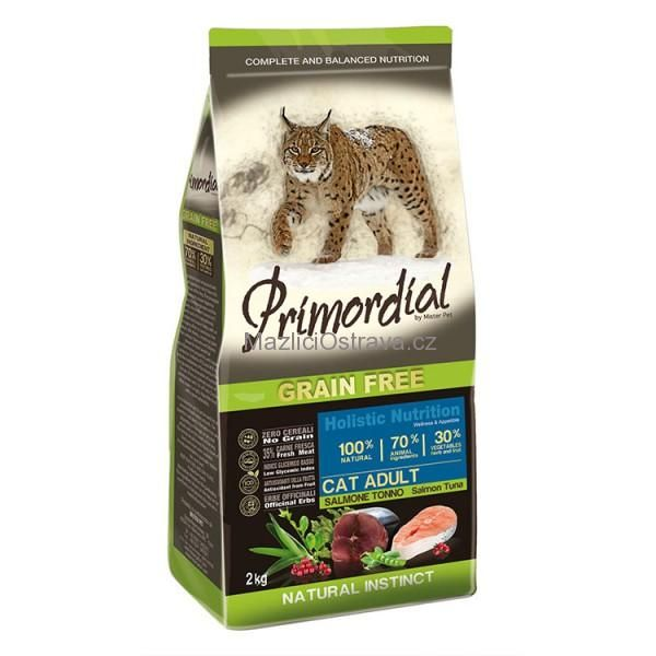 PGF Cat Adult Salmon & Tuna 2kg Primordial