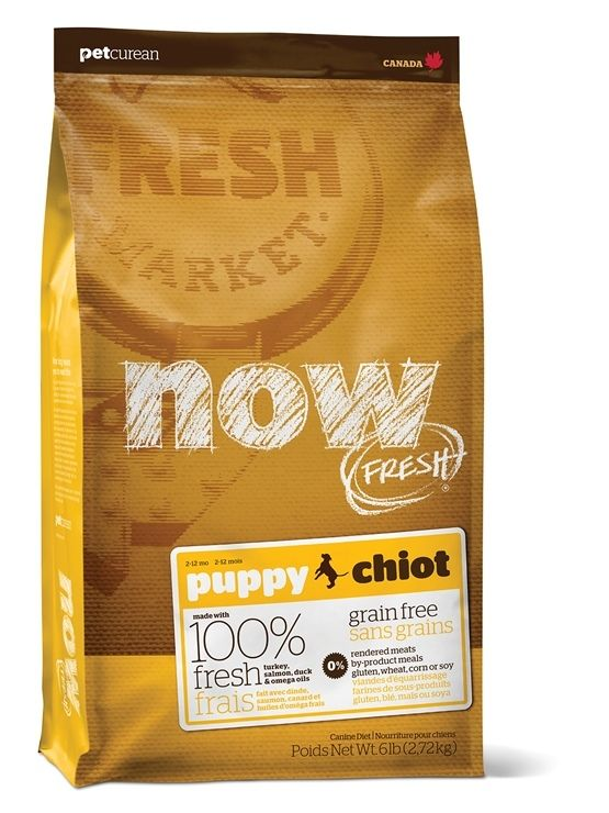 NOW FRESH Grain Free Large Breed Puppy - KROCAN, LOSOS, KACHNA 11,33 kg